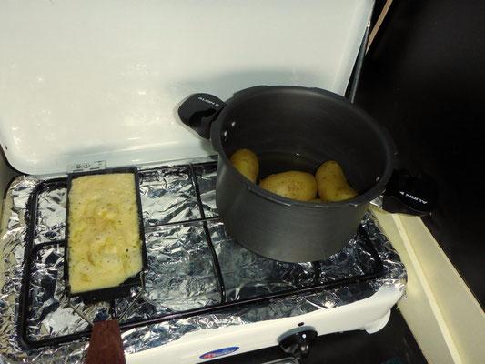 Auch traditionelle Schweizergerichte stehen bei uns regelmässig auf der Speisekarte...