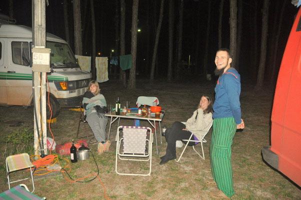 der letzte kalte Abend in Florianopolis