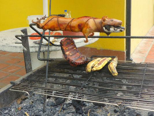 Nicht nur in Peru ist Cuy (Meerschweinchen) ein beliebtes Esse.
