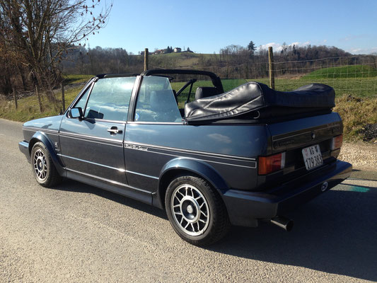 Golf Cabriolet Night Blue Special 1988 4 Personen hubers-oldtimerfahrten.jimdo.com