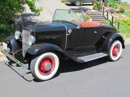 FORD (USA) Model A Roadster Jahrgang 1931 2+2 Personen hubers-oldtimerfahrten.jimdo.com