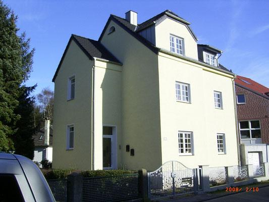 2006 - energetische Sanierung zum Niedrigenergiehaus im Bestand in Wesel