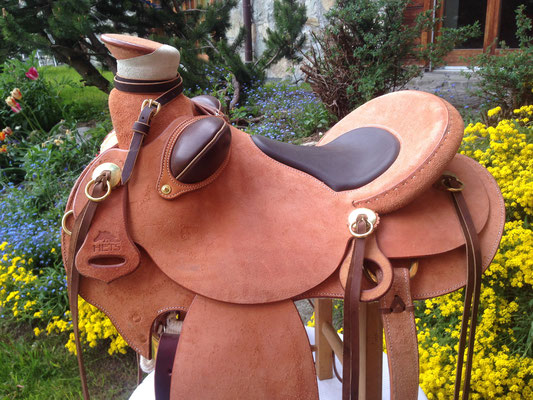 HETS Ranch Roper Working Saddle