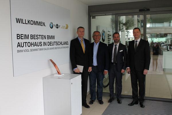 BMW Deutschlandchef bei BMW Vogl in Mühldorf