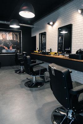 Mobilier barber shop