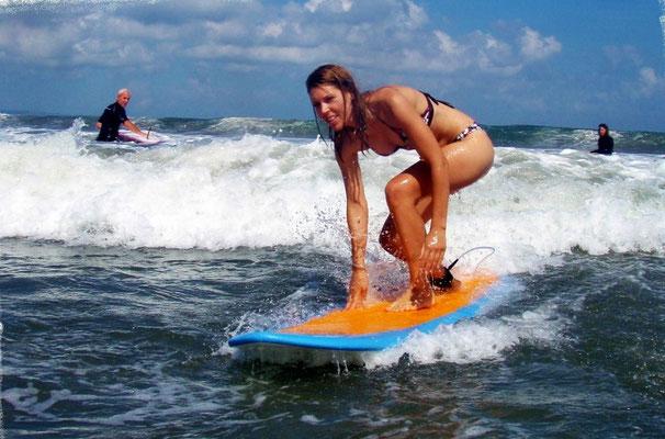 beginner surf