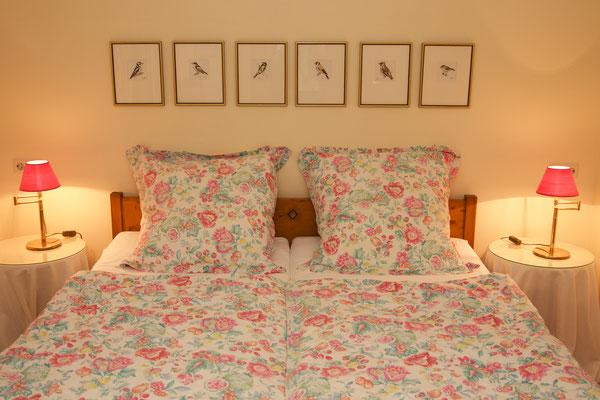 Schlafzimmer Bachblick