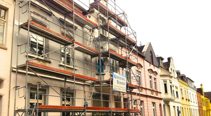 Restaurierung der Stuckfassade in Essen für private Kunden