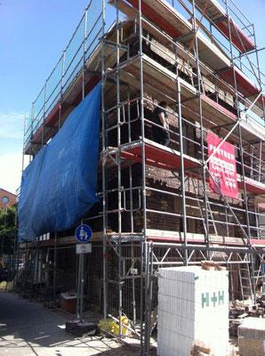 """Restaurierung Ziegelmauerwerk Ätzehaus  Meerbusch bei Düsseldorf """"Restaurierung und Erneuerung der Ziegelfassade"""""""