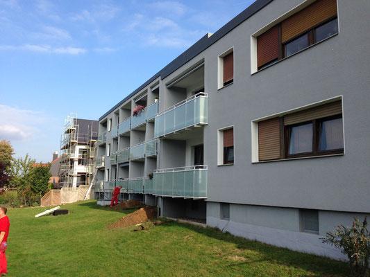 Fassadenanstrich und Sanierung