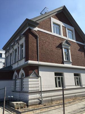Villa Löwenburg Fassadenrestaurierung und Stuckrestaurierung