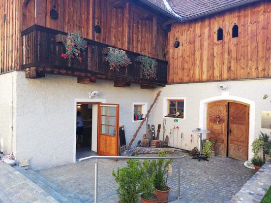 """Bauernhof Gams; Projekt """"Kärntner Landschönheit""""; Warmuth"""