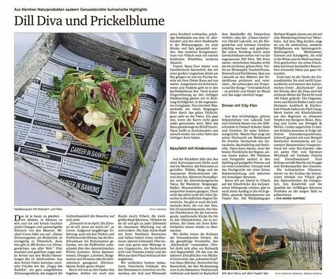 Die Speisekammer am Faaker See - Bayerische Staatszeitung (September 2019)