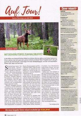 Essbare Landschaft am Faakersee - Clever Reisen (Jänner 2018)