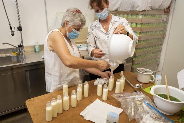"""Ein Shampoo mit Joghurt? Projekt """"Kärntner Landschönheit""""; Schmöe"""