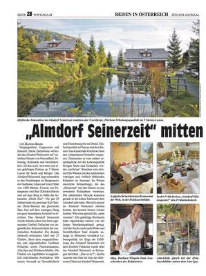 Wildkräuter im Almdorf Seinerzeit - Südost Journal (April 2021) - Seite 1