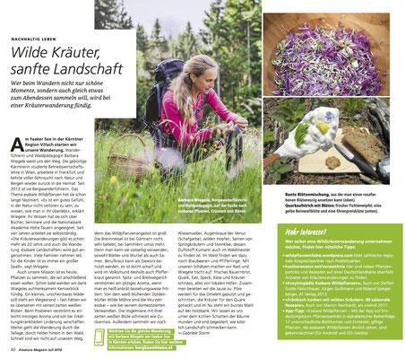 Essbare Landschaft am Faaker See - Alnatura Magazin (Sommer 2018)