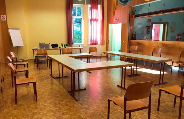 """Raum im Kulturhaus Latschach (Gemeinde Finkenstein); Projekt """"Kärntner Landschönheit"""""""