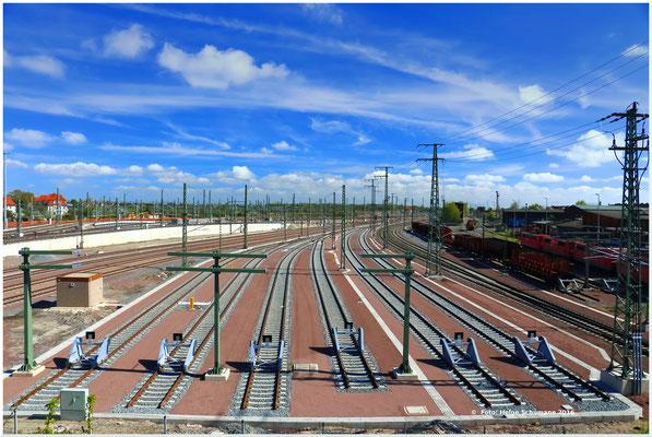 Güterbahnhof Halle - Endstation