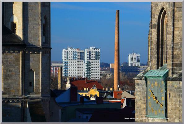 Alt und Neu- Blick vom Markt nach Neustadt