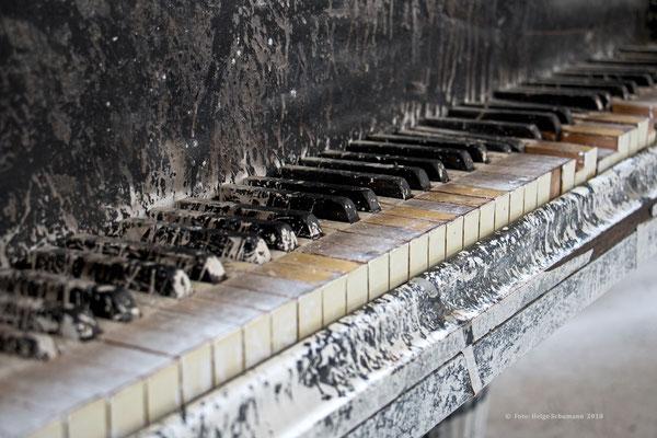 Klavier in der Zentralbadeanstalt