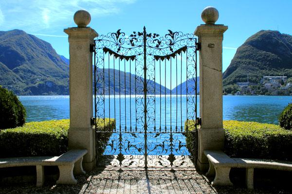 Tor zum Luganer See