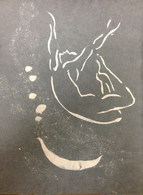Eve Chayes Lyman  'Mystical Sign'; handgeschöpftes Papier
