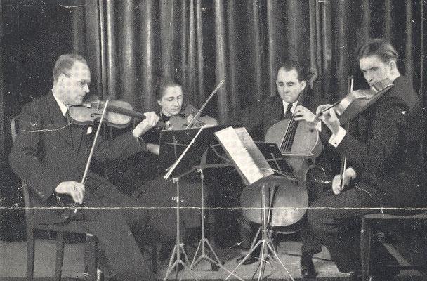 Mozarteum Quartett, Salzburg in der 1930er Jahren