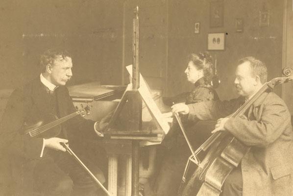 Prof. Zitzmann, Violine