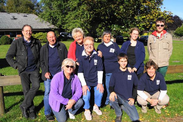 Die Mannschaft vom 29.09.2013 in Königsmoor