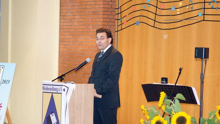 Auch Pastor Florian Schneider gilt unser Dank