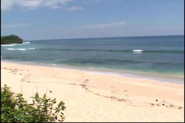 der private Strand ---