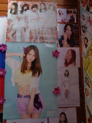 Wand 1 aktualisiert, die beiden Poster sind echt, der Rest nur ausgedruckter Wandschmuck