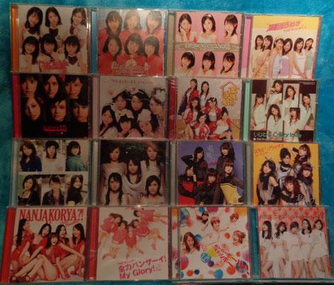ALLE limited Edition CD's (mit je DVD die MV und Making Of enthalten)