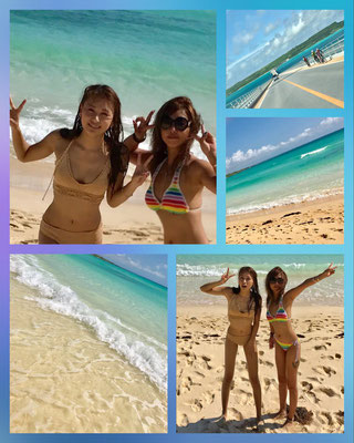 Beach Beautys ^^ Yurika and Rie