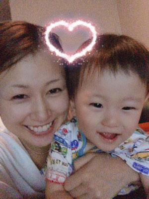 Yuito sieht nun immer deutlicher seiner Mama ähnlich!!! Augen, Nase, Lippen und er wird immer niedlicher