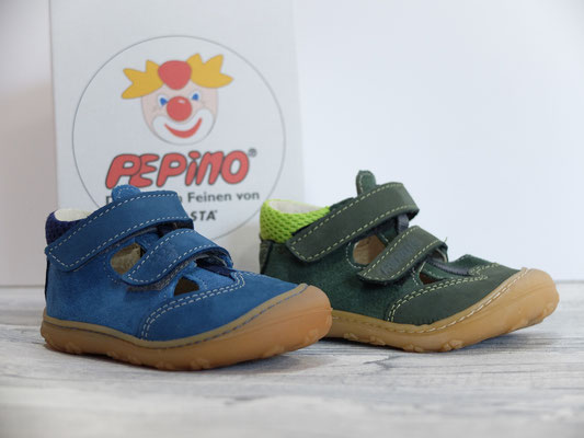 Pepino by Ricosta links: petrol rechts: oliv Größe 19-22 => 58,90 €
