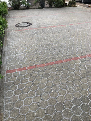 Parkplatz Nachher