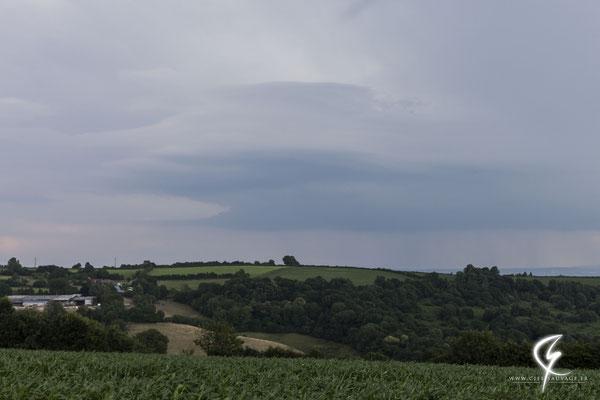 Nuage-mur mourrait sur le nord de l'Orne (61)