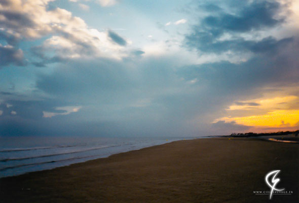 Orage matinal arrivant du sud-est