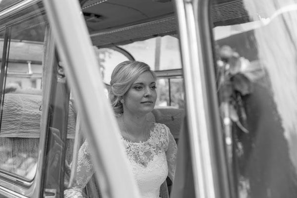 Braut, Hochzeit, Schwarz Weiß, gefasst, schön, hübsch, weiß, hell, ulm, langenau