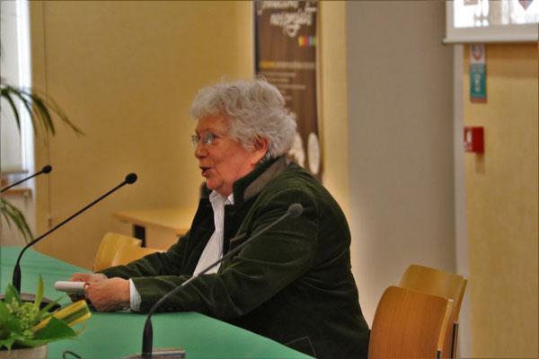 Janine Knecht, responsable  Perche Verrières Espérance