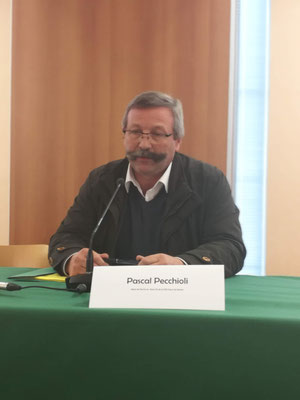 Pascal Pecchioli, maire de Perche en Nocé et Président de la communauté de communes Coeur de Perche