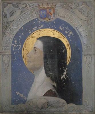 Portrait de Marguerite de Lorraine-Marie Gautier-1925-Eglise Saint Germain -Argentan