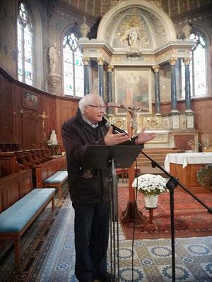 Père Jacques Roger, curé