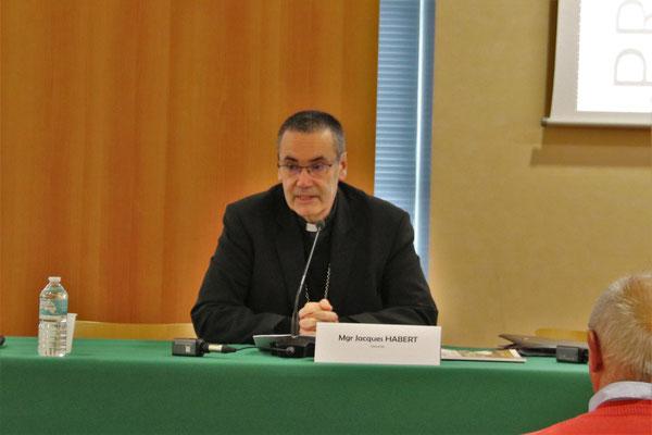 Mgr Jacques Habert , évêque de Séez