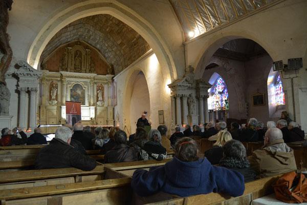 Inauguration à l'église St Ouen de Verrières