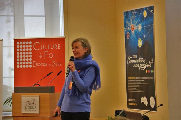 Martine van den Bergen, directrice du réseau Eglises ouvertes