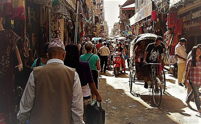 Kathmandu bruist