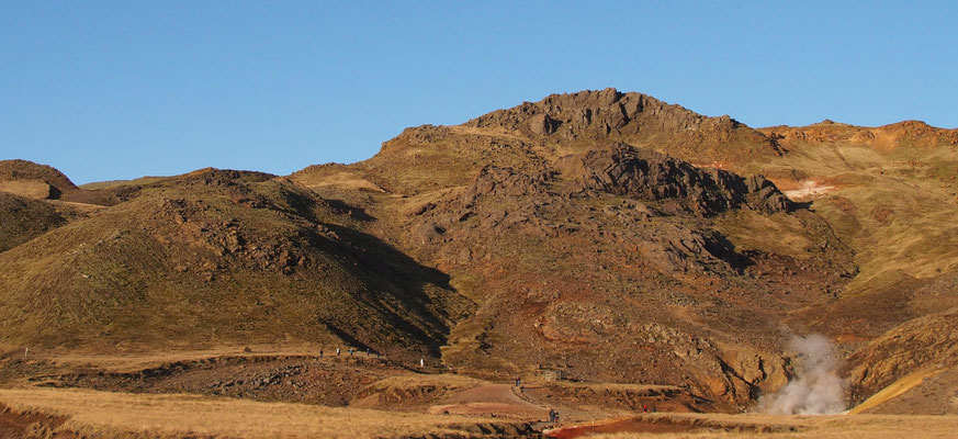 Seltun, geothermal area